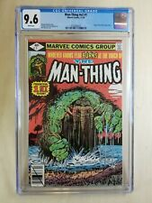 Man Thing #1 CGC 9.6 NM+ White Pages (1979) v2 Origin retold Marvel comics