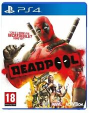 VIDEOGIOCO DEADPOOL PS4 ITALIANO MARVEL DEAD POOL GIOCO PLAYSTATION 4 PROMO