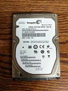 "Seagate Momentus 7200.4 500GB 2.5"" SATA Hard Disk Drive ST9500420AS"
