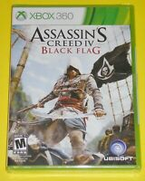Xbox 360 Video Game - Assassin's Creed IV: Black Flag (New)