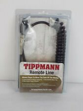 New Tippmann Paintball Coiled Remote Air Tank Line Hose (H-01)
