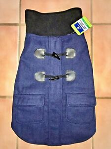 NWT Top Paw Size Large Navy Blue PEACOAT with Toggles Sweater for Stylish Dog