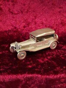 danbury mint 1928 Lancia Lambda, pewter car