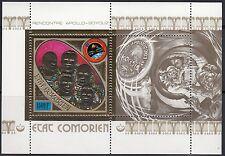 Komoren / Comorien - Block 9A** SOJUS-APOLLO 1975