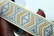 Woven Trim SW Native Cream 1 inch wide by the yard
