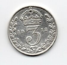 Great Britain - Engeland - 3 Pence 1912