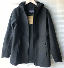 Patagonia Women's Recycled Wool Jacket Forge Grey Size XS RRP £300
