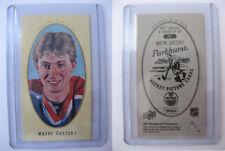 2011-12 Parkhurst Champions #57 Wayne Gretzky mini PARKHURST BACK Oilers RARE