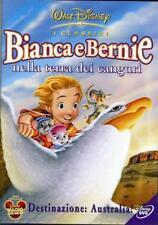 2 DVD  DISNEY nuovi LE AVVENTURE DI BIANCA E BERNIE e NELLA TERRA DEI CANGURI