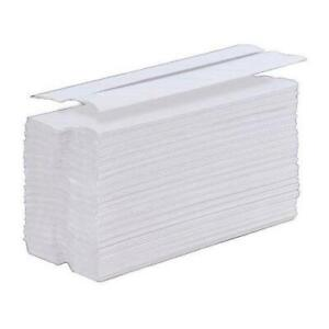 Hand Towel C-Fold One-Ply Recycled Size 230x310mm 100 Towels - 24 Pack