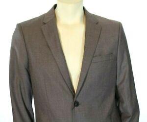 Perry Ellis Men's Slim-Fit Brown Jacket Suit Separate Blazer Retail