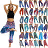 Womens Ali Baba Harem Trousers Pants Leggings Gypsy Baggy Aladdin Boho Hippy