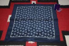 Ralph Lauren Purple Label Made in Italy 100% Silk Pocket Square