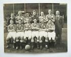 LEEDS UITED 1933/1934 Genuine Vintage Team Group Football Press Photo