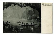 CPA -Carte postale- Belgique- Grotte de Han - Le Lac d'embarquement-VM2330