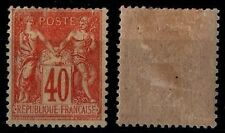 SAGE 40c Orange, Neuf * Gommé = Cote 175 € / Lot Timbre France n°94