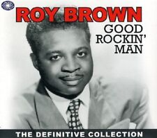 Roy Brown Good Rockin' Man-The Definitive Collection 2-CD NEW SEALED 2011 Blues