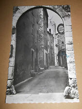 POSTCARD: VIELLE RUE ( VENCE A M ) PHOTOGRAPH POSTED 1940'S