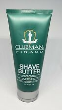 Clubman Pinaud Shave Butter Shaving Cream 6 fl.oz. Free Shipping