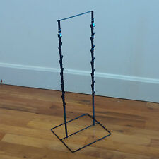 New - Black Double Round Strip Potato Chip, Candy Clip Counter Display Rack