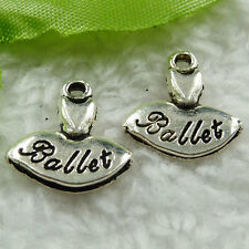 Free Ship 120 pieces tibet silver dress charms 16x15mm #1479