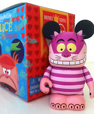 "DISNEY VINYLMATION 3"" ALICE IN WONDERLAND CHESHIRE CAT 2011 COLLECTIBLE TOY NEW"