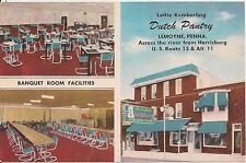 Dutch Pantry Restaurant Lemoyne PA Postcard