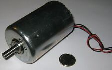 Large DC Hobby Motor - Wind or Water Turbine Generator - 12 VDC - 1V per 250 RPM