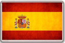 SPAIN FLAG FRIDGE MAGNET SOUVENIR NEW IMÁN NEVERA BANDERA ESPAÑA