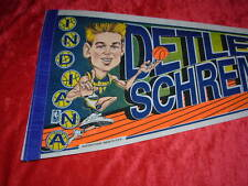 Detlief Schrempf Indiana Pacers Character Basketball Full Size 30 Inch Pennant