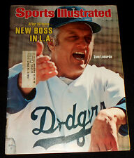 March 14, 1977 Sports Illustrated TOM LASORDA Cover (LA Dodgers)