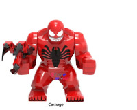 Big Size Carnage Lego Marvel Incredible Super Hero Figures Building Blocks Toys