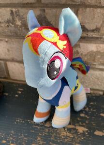 My Little Pony Plush Stuffed Animal Toy Blue RAINBOW P3