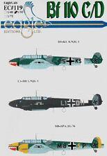 Eagle Cal 1/72 Messerschmitt Bf 110C/D Pt 3 # 72119
