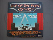"LP 12"" 33 rpm 1980 TOP OF THE POPS 60's - 70's"