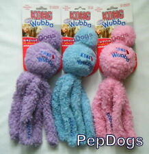 KONG Snugga Wubba SMALL Dog Puppy Fetch Tug Cuddle Snuggle Rubber Ball Toy WS3