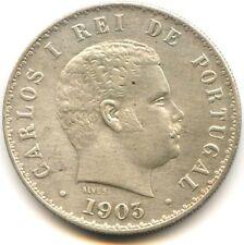 Portugal Carlos I 500 Reis argent 1903 KM 535
