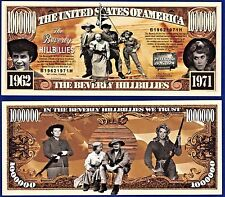 1-Beverly Hillbillies  Dollar Bill Funny TV series- Collectible- MONEY-Y1