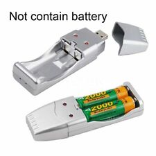 Smart USB Battery Charger for AA / AAA NiCd NiMh Fast Rechargeable Batteries