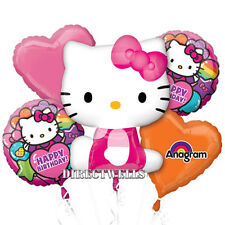 Hello Kitty Authentic Licensed Foil / Mylar Balloon Bouquet