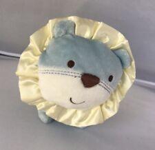 "Baby Fund Safari Friends Plush Rattle Toy Lion Taggie Mane Soft 7.5"" x 6.5"""