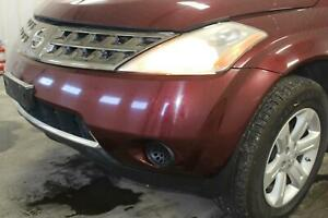Bumper Bracket compatible with Nissan Murano 03-07 Front Stay Steel Left Side
