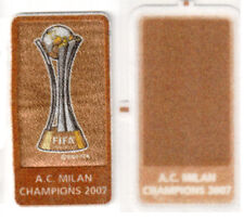 Toppa UFFICIALE Patch Badge A.C.MILAN CHAMPIONS 2007