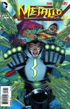 Action Comics 23.4 Metallo #1  3-D Lenticular New 52 DC 1st Print  Nm