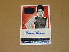 2015 Country Music Signatures Blue #62 Shawna Thompson SN 017/149