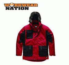 Abrigos y chaquetas de hombre parkas rojos rojos