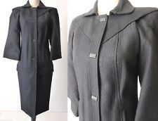 KARL LAGERFELD  Black Coat Made In Italy Size 8 - 10 US 4 - 6 EU 40 rrp $2896.00