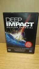 DEEP IMPACT. SIGNED BY DENISE CROSBY AND ELIJAH WOOD