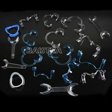 18 PCS/KIT NEW 1 Kit Dental Intraoral Cheek Lip Retractor Opener All Type Italy