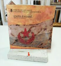 ENZO PAGANI 1988 mostra Gallarate RARO CATALOGO LIBRO ARTE ART BOOK grecoarte